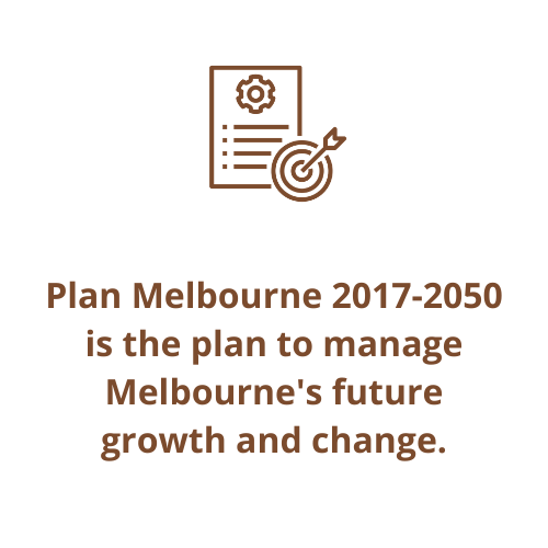 Plan Melbourne 2017-2050 is the plan to manage Melbourne's future growth and change.