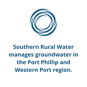 Southern Rural Water manages groundwater in the Port Phillip and Western Port region.