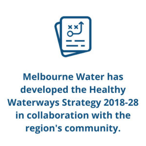 Melbourne Water has developed the Healthy Waterways Strategy 2018-28 in collaboration with the region's community.